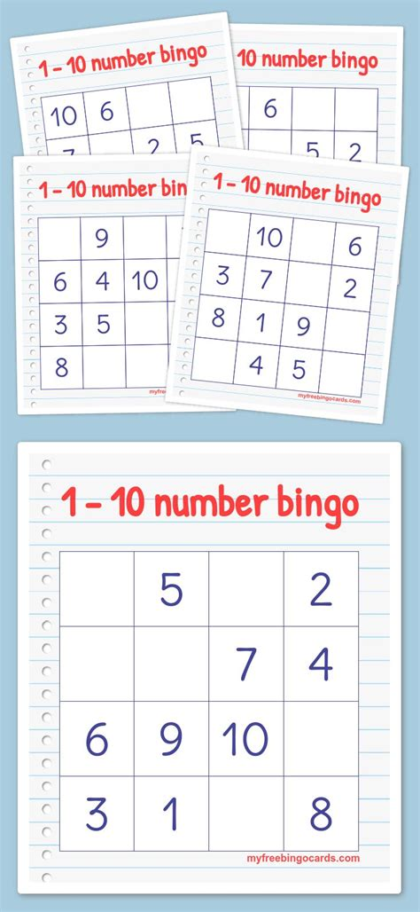 make your own picture bingo cards free 1000 ideas about number generator 1 10 on