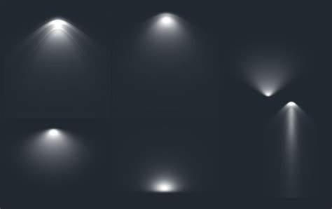 photoshop lights photoshop light brushes vector templates banner