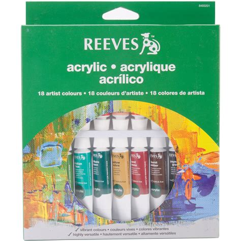 acrylic painting supplies reeves acrylic painting supplies kmart