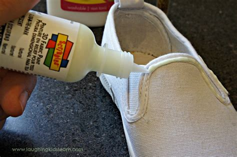 glow in the paint for shoes glow in the shoes laughing learn
