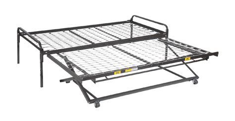trundle bed frame pop up 33 steel high riser day bed frame pop up trundle