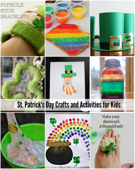 st patricks crafts for st s day crafts and activities the idea room