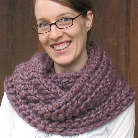 free cowl knitting patterns with bulky yarn knitting patterns galore elegance outlander cowl