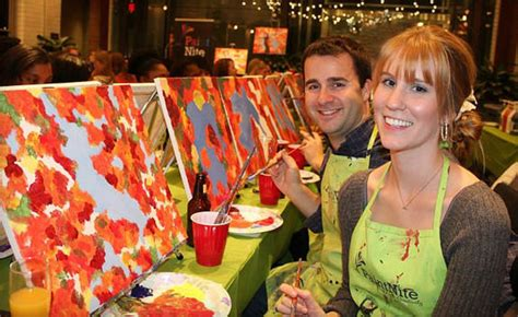paint nite ajax wagjag 25 for admission to a 2 hour paint event a