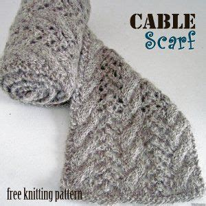 tips for knitting cables shades of winter scarf cable and patterns
