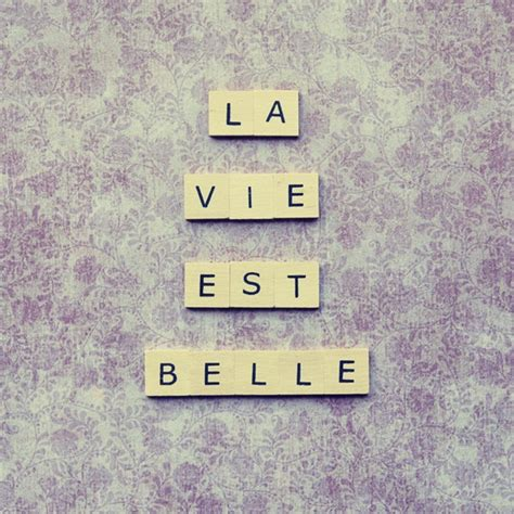 is vie a word in scrabble scrabble quote la vie est s