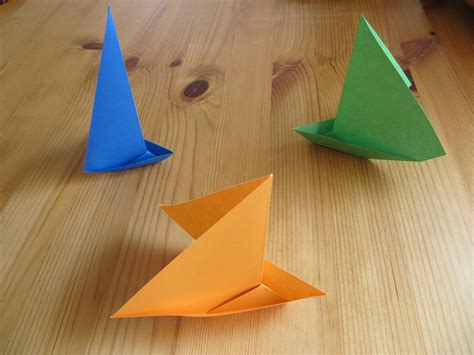 how to make origami figures origami figures 01 3 boats by jezzerz219 on deviantart