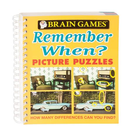 brain picture puzzles books brain remember when picture puzzle book easy comforts