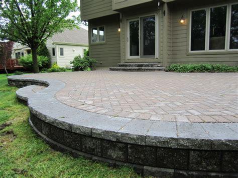 raised paver patio designs brick pavers canton plymouth northville arbor patio