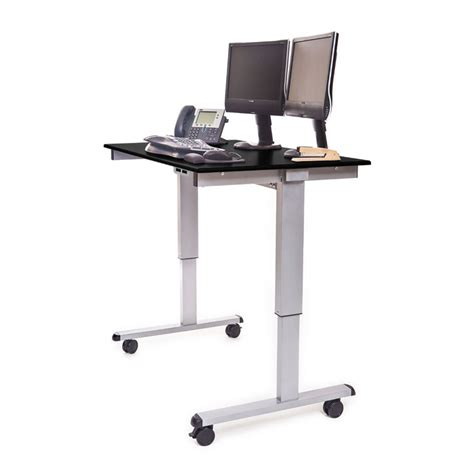 stand up desk stand 48 quot electric adjustable stand up desk