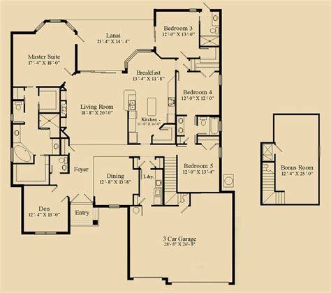 5 bedroom house plans with bonus room 5 bedroom house plans with bonus room 28 images 5