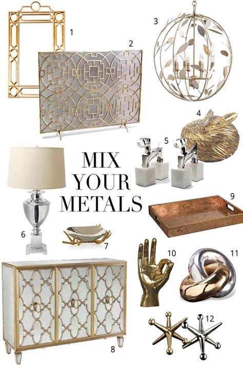 mixing metals 5 tips for mixing metals the chriselle factor