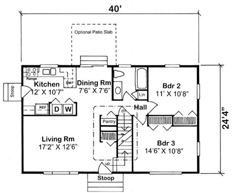 What Is A Cape Cod Style House house plan 34077 at familyhomeplans com