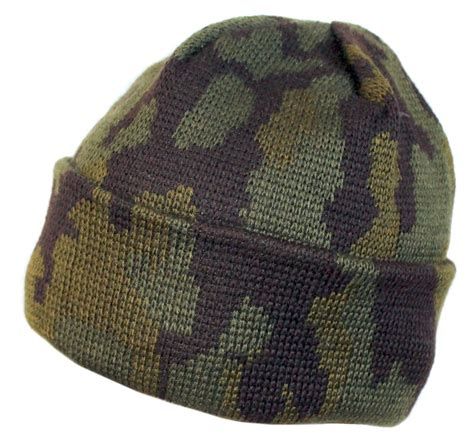 camo knit hat russian spetsnaz winter camouflage knitted hat