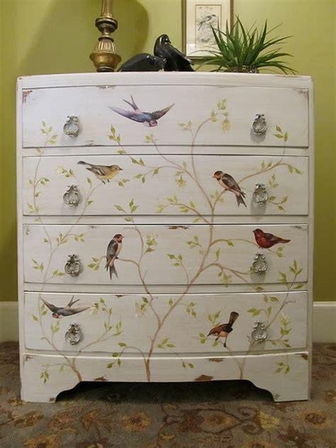 modern decoupage ideas comment peindre un meuble en bois bricobistro