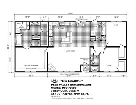 deer valley mobile home floor plans model mobile home floor plans prestige manufactured