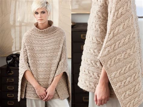 knit poncho winter 2011 12 fashion preview