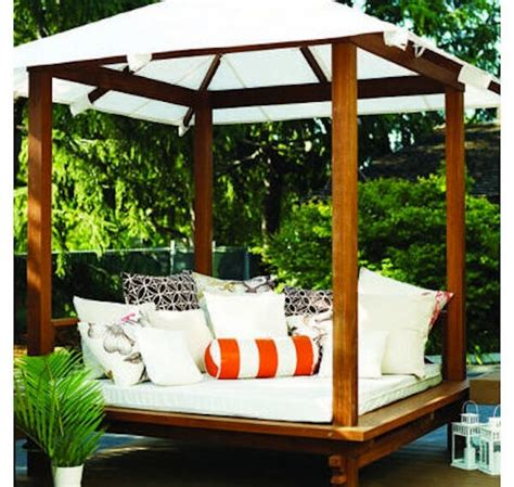 cabana for backyard cool and breezy backyard cabanas homejelly
