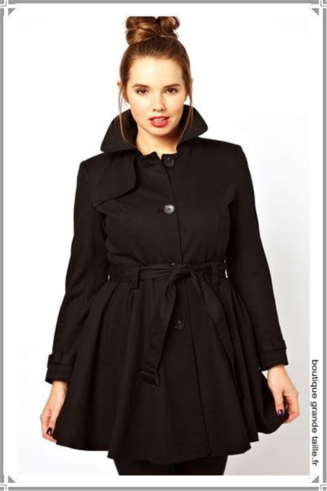 17 best images about trench femme grande taille mode on coupe manche and