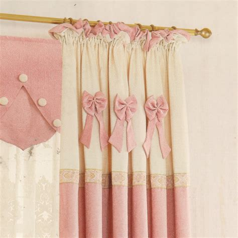 pink curtains nursery sweet pink color curtains for baby nursery