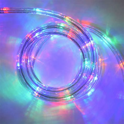 led lights multi color multi color led flat rope light