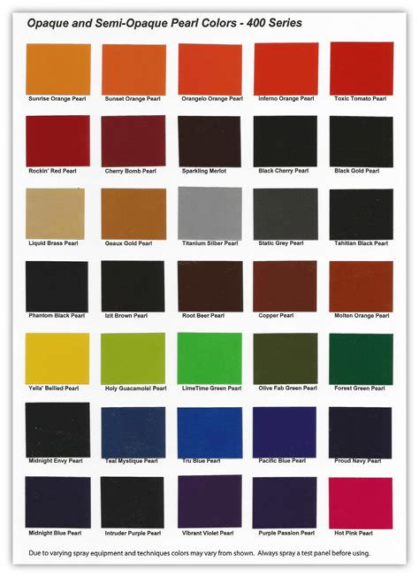 paint colors motorcycle 400 series pearl basecoat clearcoat motorcycle paint kit