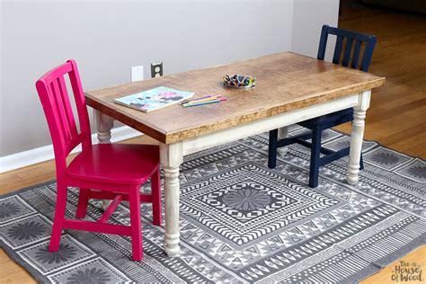 kid craft tables jen woodhouse designs the kid s table osborne