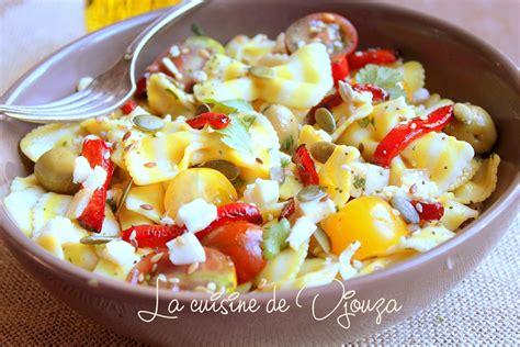 salade de p 226 tes froide italienne recettes faciles recettes rapides de djouza