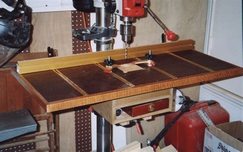 woodworking drill press table gds woodworking drill press table