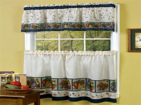 kitchen country curtains country kitchen curtains and valances free image