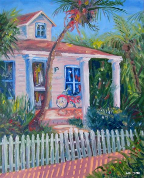 key west painting ponte style time professional artist key