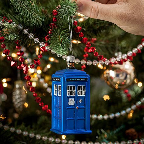 dr who tree decorations doctor who tardis ornament