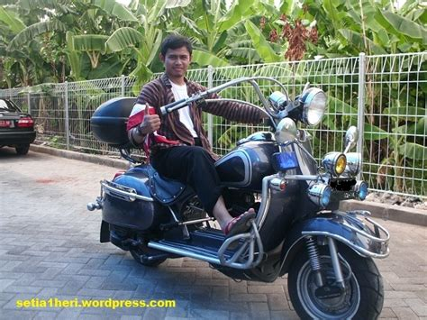 Vespa Modif Harley by Harves Harley Vespa Yang Gahar Setia1heri Org