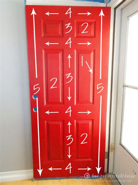 painting the front door of your house how to paint your front door pomegranate house