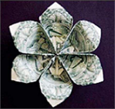origami dollar flower origami money flowers how to make origami money flower
