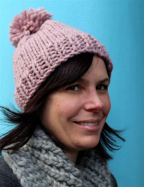 easy bobble hat knitting pattern patterns curious handmade knitting patterns