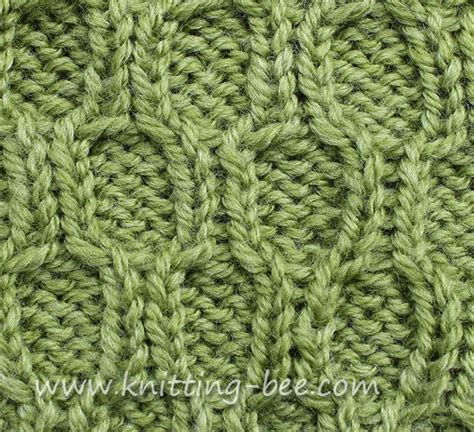 cable stitch knitting cable stitches abbreviations images