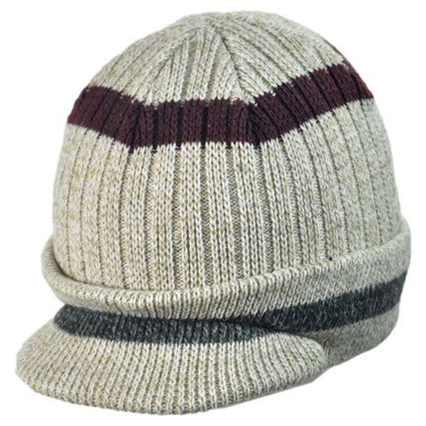 knitted beanie woolrich radar knit visor beanie hat beanies
