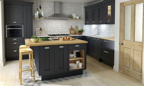 classic shaker style kitchen granite benchtops a classic mornington shaker with a painted finish