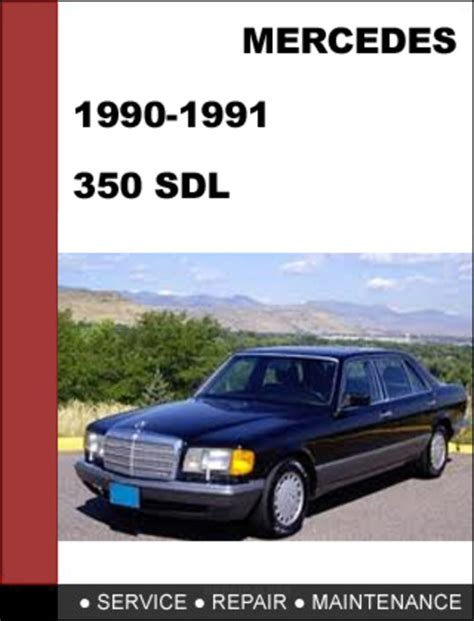small engine repair manuals free download 1990 mercedes benz s class on board diagnostic system mercedes benz 350sdl w126 1990 1991 factory workshop service repair