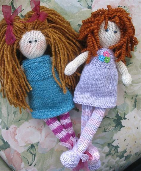 knitted rag doll patterns debbie bliss rag doll pattern knitting animals toys