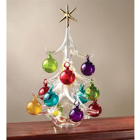tree glass the italian blown glass tree hammacher