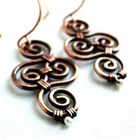 make sted jewelry 1000 images about jewelry wire on copper