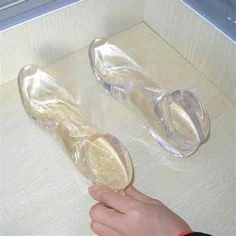 acrylic resin clear custom high heel acrylic foot display resin foot