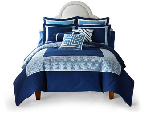 bed blue jcpenney bedroom collections simple home decoration