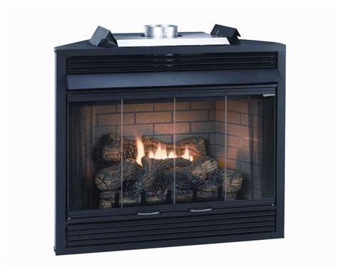 b vent fireplace empire keystone deluxe b vent louvered gas fireplace 36 quot
