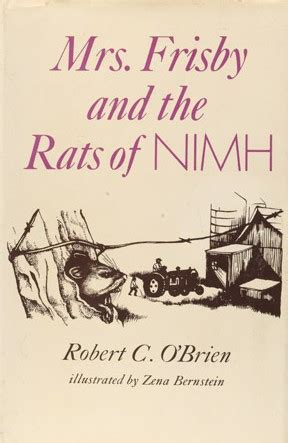 mrs frisby and the rats of nimh october 2012 never stop reading
