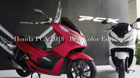 Pcx 2018 Non Abs by Honda Pcx 150i 2018 Edition