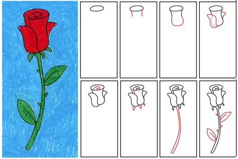 flowers step by step easy flowers drawings step by step clipart best
