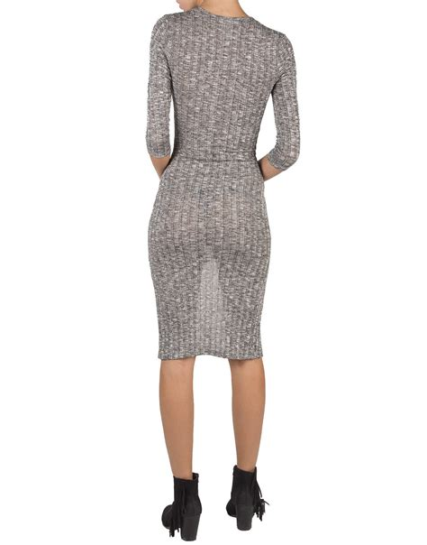 how to knit dress v ribbed knit dress large 2020ave